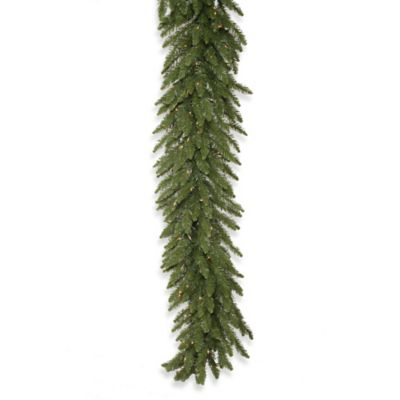 Vickerman 50-Foot Camdon Fir Pre-Lit Garland with Clear Lights