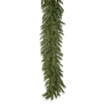 Vickerman 9-Foot x 16-Inch Camdon Fir Pre-Lit Garland with Clear Lights
