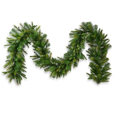 9-Foot x 14-Inch Cashmere Garland in Pine