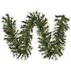 Vickerman 9-Foot 12-Inch Mixed Country Pine Garland