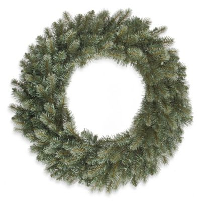 Blue Xmas Wreath