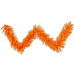 Vickerman 9-Foot x 14-Inch Orange Fir Garland Pre-Lit with 100 Mini Lights