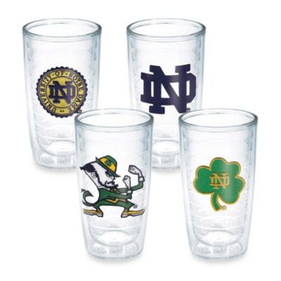 Tervis® Notre Dame 16-Ounce Tumbler (Set of 4)