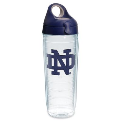 Notre Dame University 24-Ounce Emblem Water Bottle