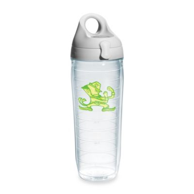 Tervis® University of Notre Dame 24-Ounce Water Bottle with Lid in Neon Green