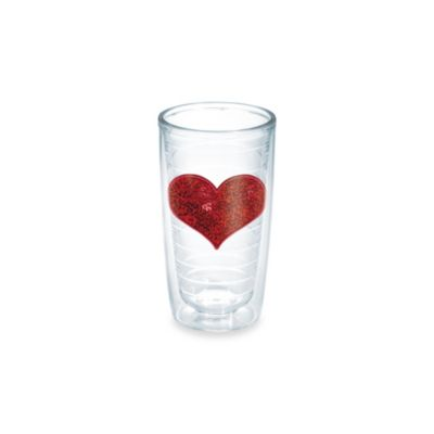 Tervis® Sequin Heart 10-Ounce Tumbler in Red