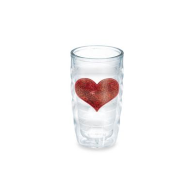 Tervis® Wavy Sequin Heart 10-Ounce Tumbler in Red