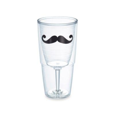 Tervis® Connoisseur Mustache 16-Ounce Wine Goblet