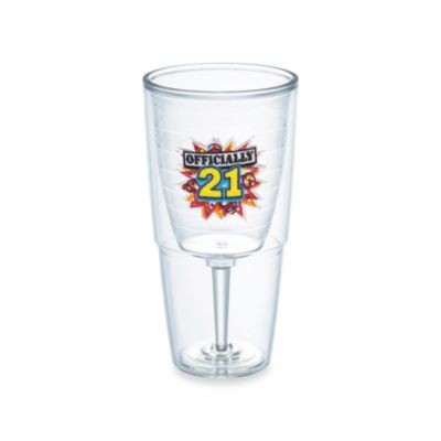 Tervis® 21st Birthday 16-Ounce Wine Goblet