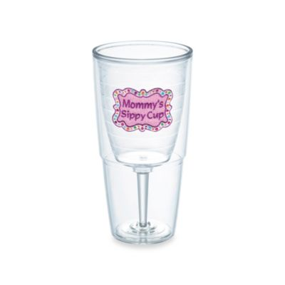 More Gifts > Tervis® 16-Ounce Shimmering Mommy's Sippy Cup Wine Goblet Tumbler