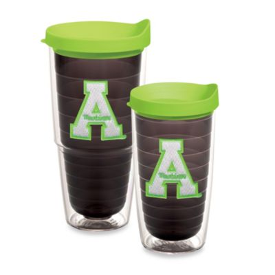 Tervis® Appalachian State University 24-Ounce Emblem Tumbler with Lid in Neon Green