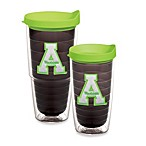 Tervis® Appalachian State University Emblem Tumbler with Lid in Neon Green