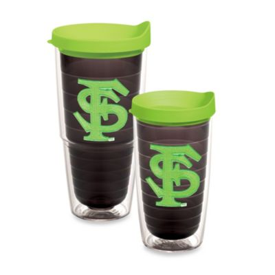 Tervis® Florida State University 24-Ounce Tumbler with Lid in Neon Green