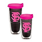 Tervis® Florida State University Emblem Tumbler with Lid in Neon Pink