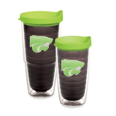 Tervis® Kansas State University 16-Ounce Tumbler with Lid in Neon Green