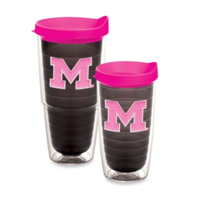 Tervis® University of Michigan 16-Ounce Tumbler in Neon Pink