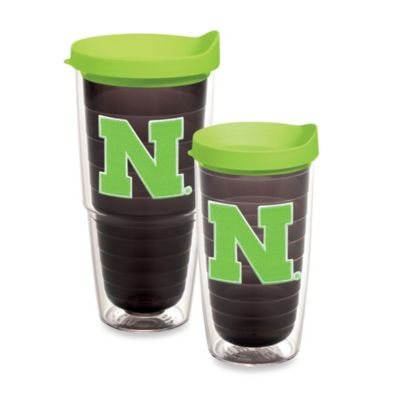 University of Nebraska Tumbler in Neon Green