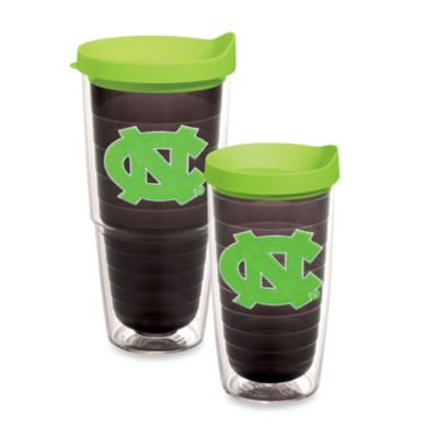 Tervis® University of North Carolina 24-Ounce Tumbler with Lid in Neon Green