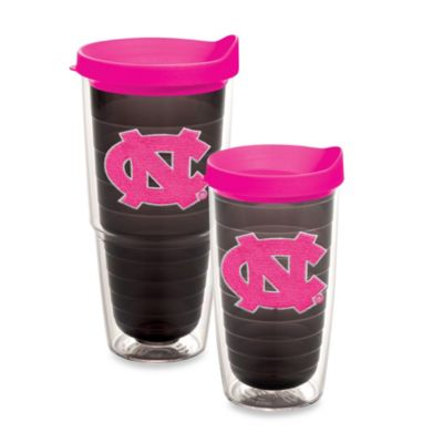 Tervis® University of North Carolina 16-Ounce Emblem Tumbler with Lid in Neon Pink