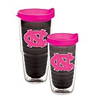 Tervis® University of North Carolina Emblem Tumbler with Lid in Neon Pink