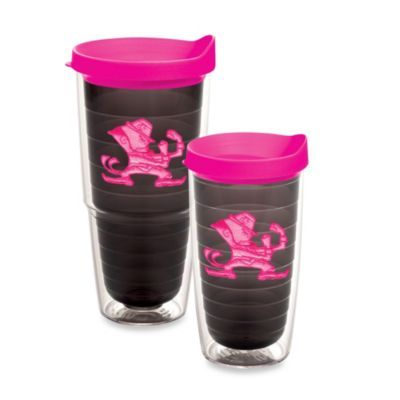 Tervis® University of Notre Dame 16-Ounce Tumbler with Lid in Neon Pink