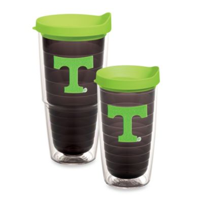 Tervis® University of Tennessee 24-Ounce Emblem Tumbler with Lid in Neon Green