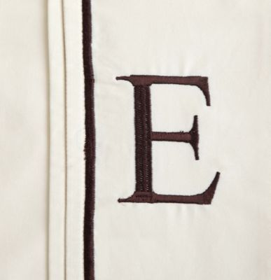 "Monogram Letter ""E"" Pillowcases (Set of 2)"