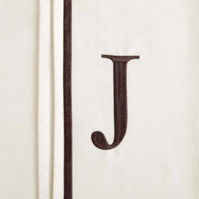 "Monogram Letter ""J"" Pillowcases (Set of 2)"