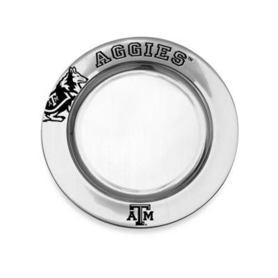 Wilton Armetale Texas A&M University Small Round Tray