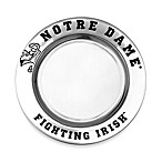 Wilton Armetale University of Notre Dame Small Round Tray