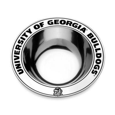 Wilton Armetale® University of Georgia Medium Round Bowl