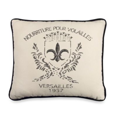 Rose Tree Montpellier Boudoir Toss Pillow