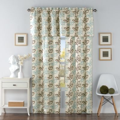 Climbing Leaves Window Valance