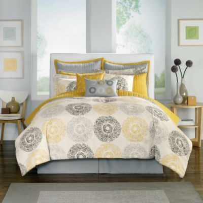 Medallion 12-Piece Queen Comforter Super Set
