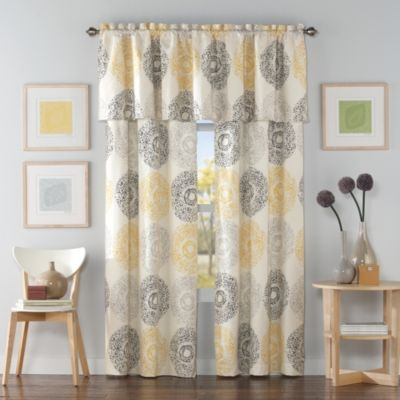 Medallion Window Valance