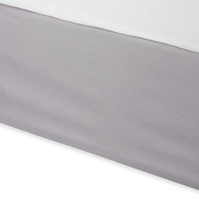 Wamsutta® Tatami Bed Skirt in Grey