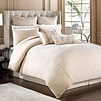 Velvet Duvet Cover in Taupe