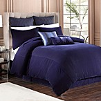 Velvet Pillow Shams in Indigo