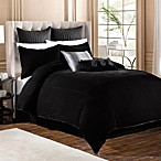 Velvet Pillow Shams in Black