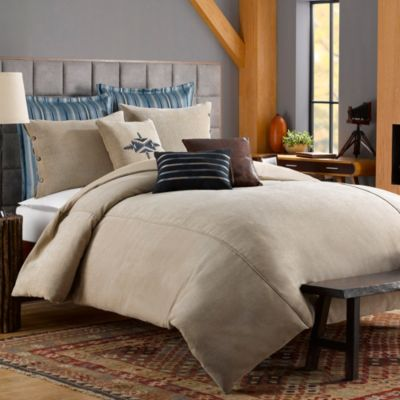 Solid Chenille Twin Duvet Cover in Chincilla