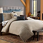 Solid Chenille Duvet Cover in Chincilla