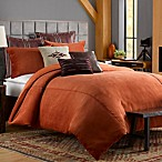 Solid Chenille Duvet Cover in Picante