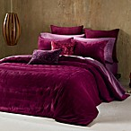 The Tallulah Collection by Kevin O' Brien Coverlet Pillow Sham in Deep Red