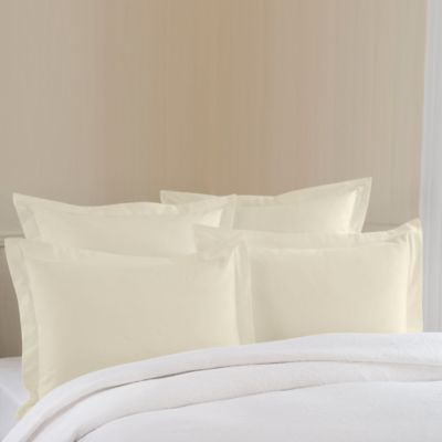 Black Cream Pillow Sham