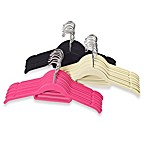 Real Simple® Slimline 12-Count Flocked Shirt Hangers