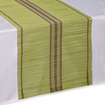 Bamboo Table Runner in Green