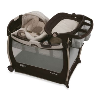Playards > Graco® Pack 'n Play with Cuddle Cove™ Rocking Seat in Paris