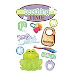 3-D Teething Time Embellished Stickers