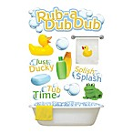 3-D Rub a Dub Dub Embellished Stickers