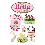 3-D Daddy's Little Girl Embellished Stickers